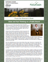 """April 2021 – """"Slow and Fast Thinking on a Public Board"""""""