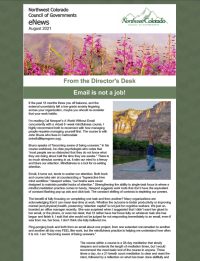 August 2021 – Emails are not a job, THOR in the canyon, Admin Team